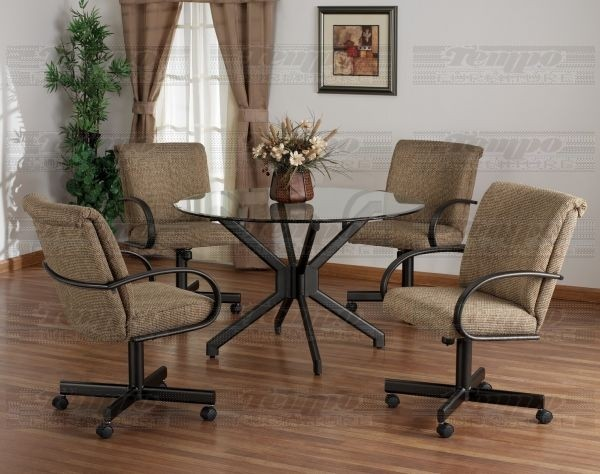 Dining Room Chairs With Casters 9