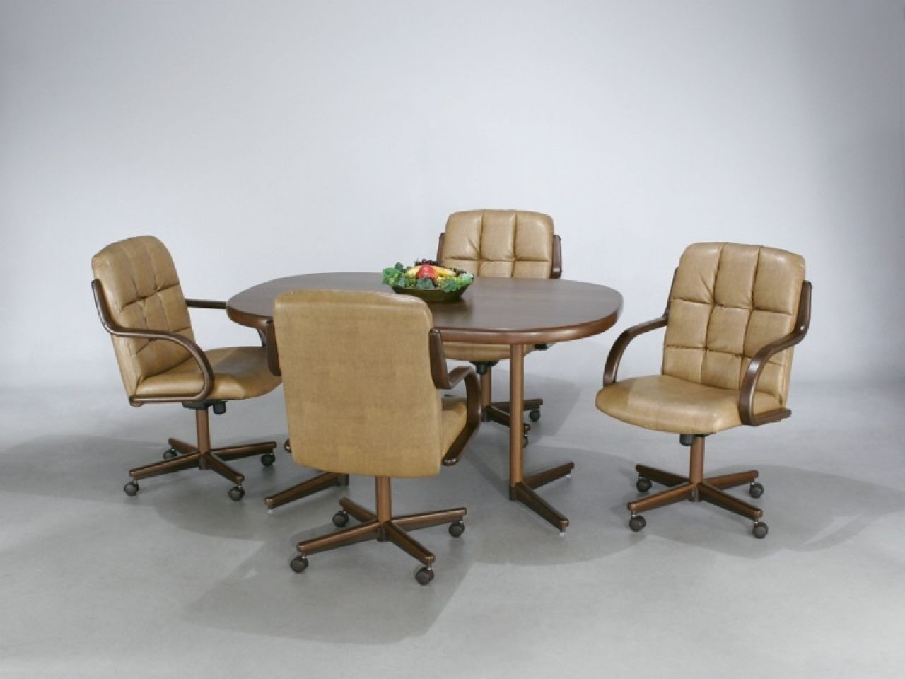 Merveilleux Dining Room Chairs With Casters