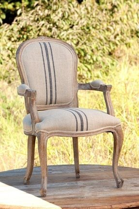 Dining room french country arm chair 25