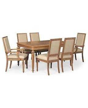 Dining room oak arm chair 1