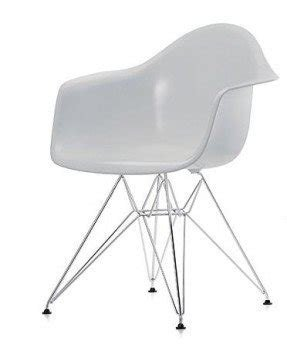 Eames plastic arm chairs 1