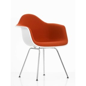 Eames plastic arm chairs 11