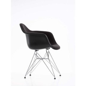 Eames plastic arm chairs 14