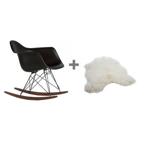 Eames plastic arm chairs 5