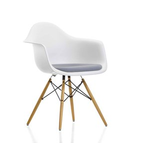 Eames plastic arm chairs
