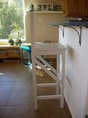 Extra high bar stools