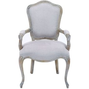 Feminine chic tarleton arm chair