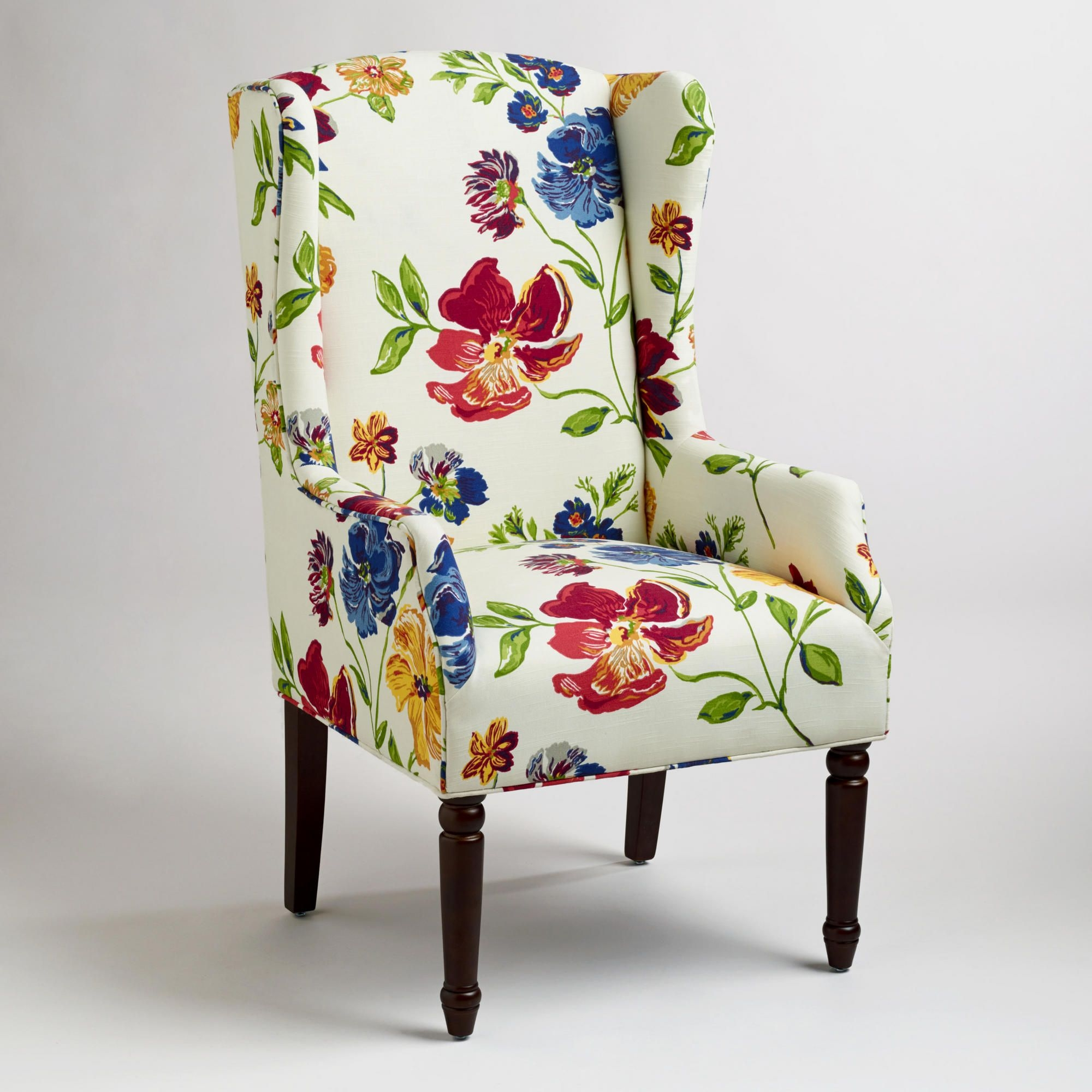High Quality Floral Upholstered Dining Chairs Pictures
