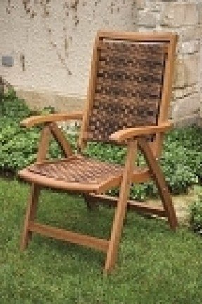 Folding chair with arms 1