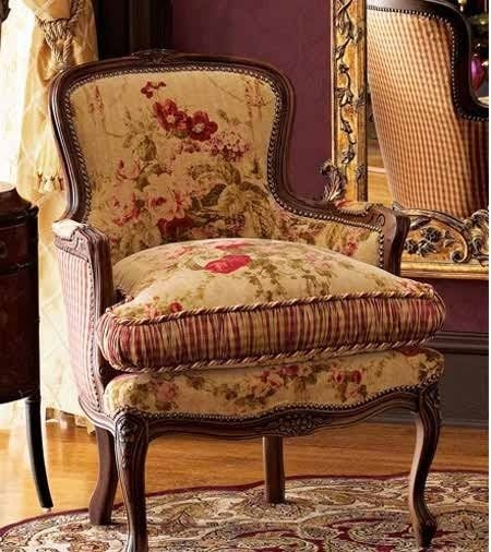 French Bergere Chairs 1