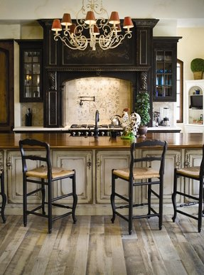 French country barstools