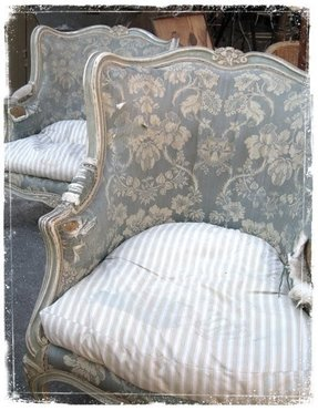 French Country Upholstered Chairs