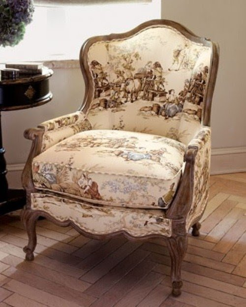 Captivating French Country Upholstered Chairs 1