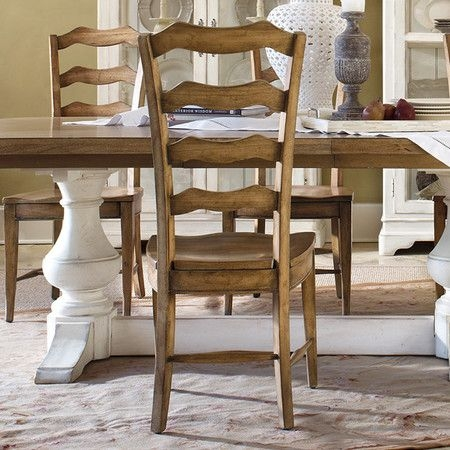 Captivating French Ladder Back Arm Chair 6