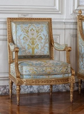 French louis shabby chic chair