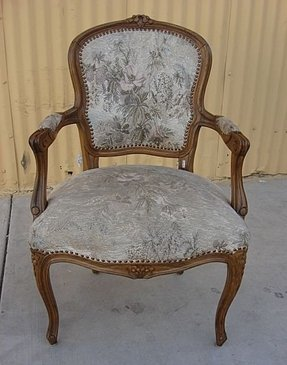 French Louis Xv Arm Chair 3