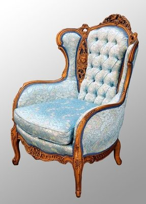 French walnut chairs 1