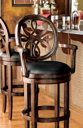 Frontgate swivel bar stools