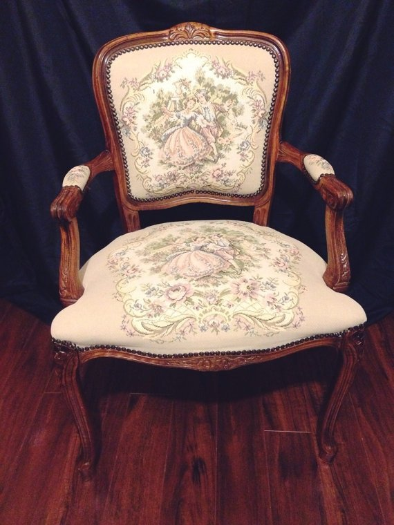 Gorgeous Antique Arm Chair With