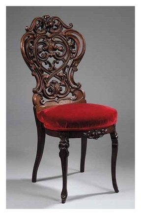 Hand carved chair 29