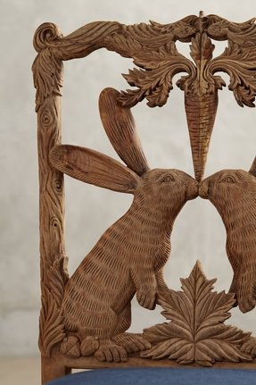 Hand carved chair 7