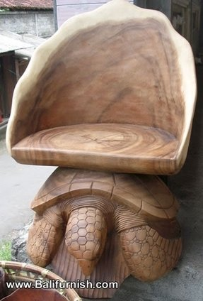 Hand carved chair 8