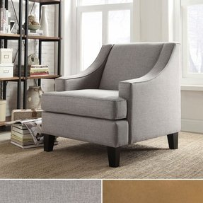 Inspire q winslow concave arm modern accent chair 2