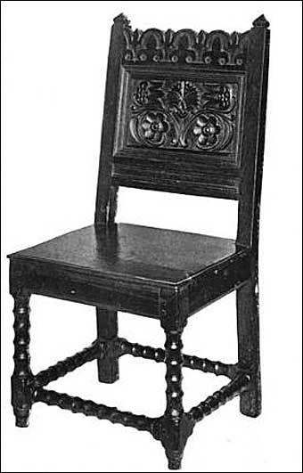Lovely Jacobean Chair 11