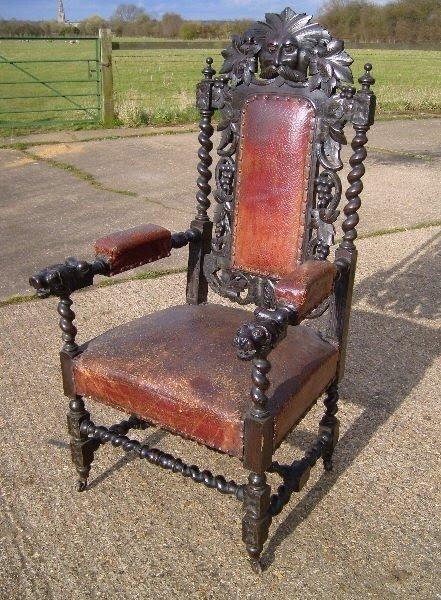 Jacobean Chair 13