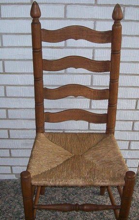 old wooden ladder back chairs ladder back chairs seats foter 7165
