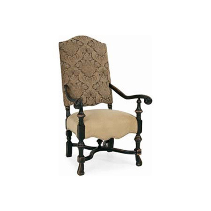 Leather antique arm chairs 1