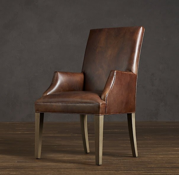 Leather chairs dining room & Leather Dining Room Chairs With Arms - Foter