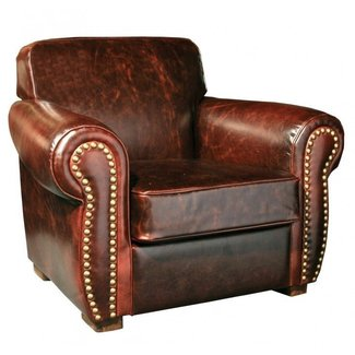 Leather cigar chair 2