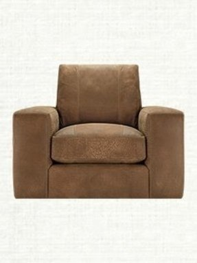 Leather Square Arm Chair Foter