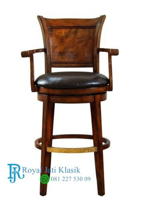 Exceptionnel Leather Swivel Bar Stools 1