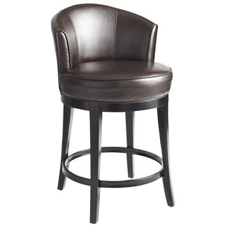 Astonishing Leather Swivel Bar Stools Ideas On Foter Uwap Interior Chair Design Uwaporg