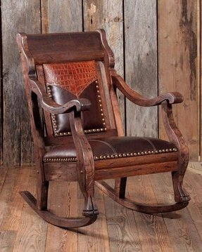 Leather Western Chair