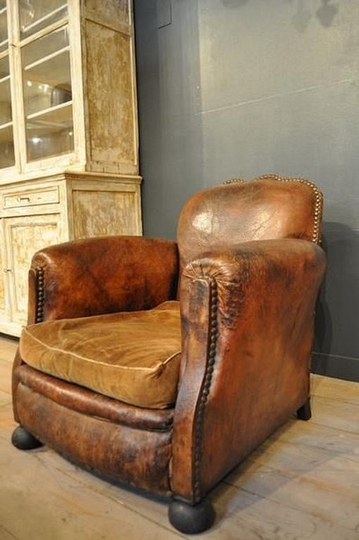 Leather Western Chair 2