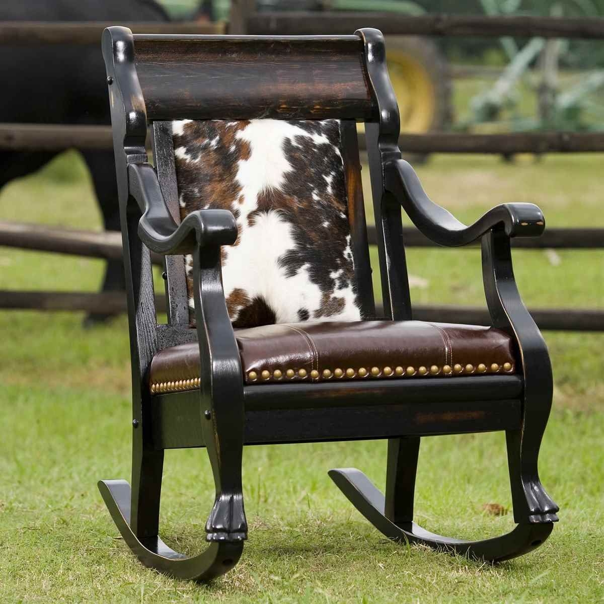 Superbe Leather Western Chair 8