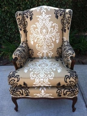 Lucia wing back chair