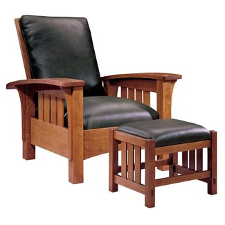 Mission style arm chair 1