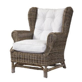 Northern nautical padmas plantation kubu wingback chair