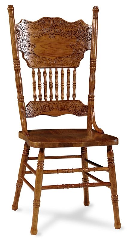 - Oak Double Pressback Chairs - Foter