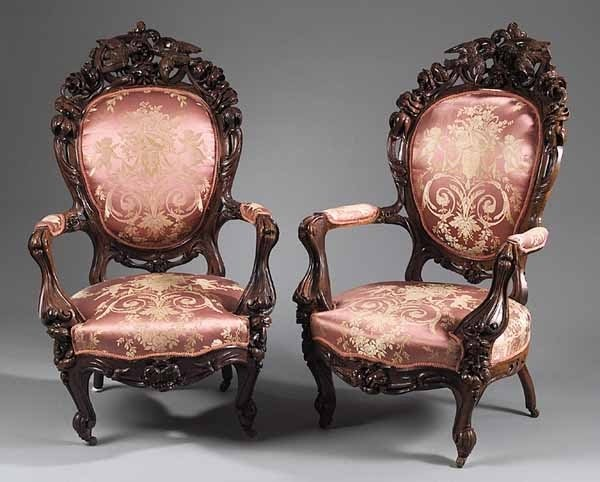 Merveilleux Old Victorian Chairs