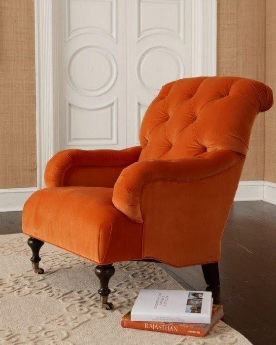 Merveilleux Orange Chair