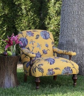 Outdoor upholstered arm chair 10