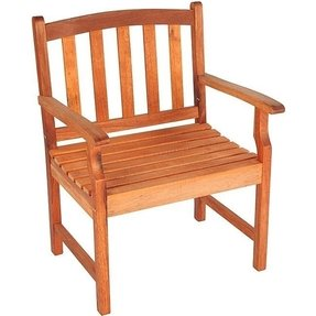 Outdoor wood folding chairs