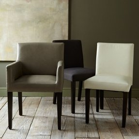 Leather Dining Room Chairs With Arms - Ideas on Foter