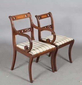 Regency style dining chairs