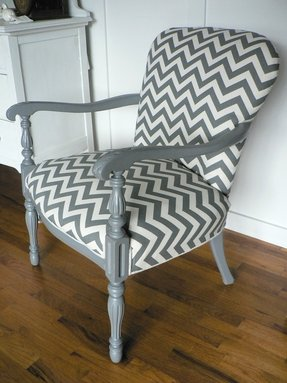 Reupholster arm chair